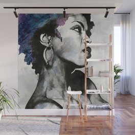 Miseducation: Lauryn Hill tribute portrait Wall Mural