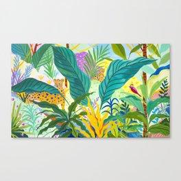 Paradise Jungle Canvas Print