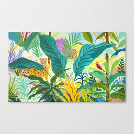 Paradise Jungle Canvas Print