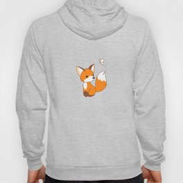 Cute Little Fox Watching Butterly Hoody
