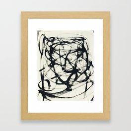 FK Framed Art Print