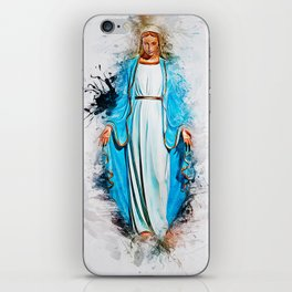 The Virgin Mary iPhone Skin