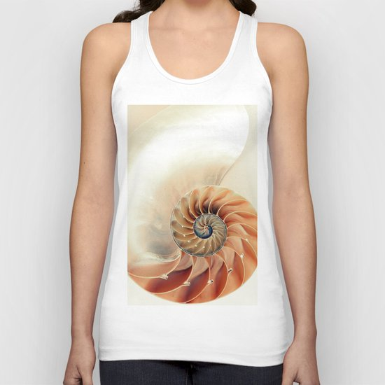 Shell of life Unisex Tank Top