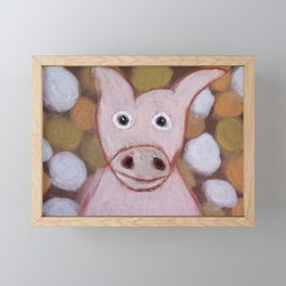 Some Other Pig Framed Mini Art Print