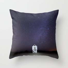 Abandoned White House Throw Pillow