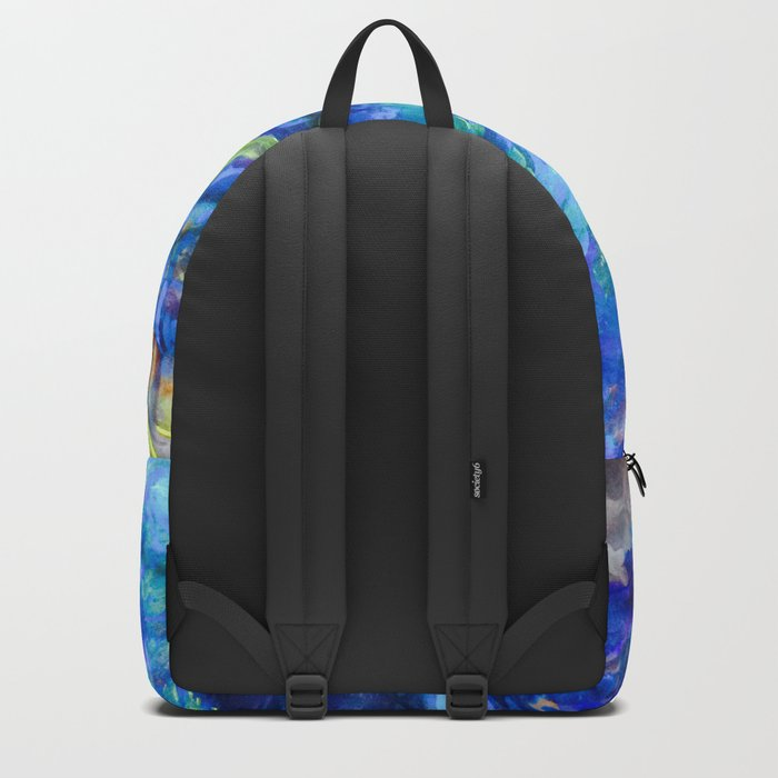 When You Just Need to Sleep Curl Up, Blue Phoenix Backpack