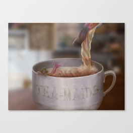 Tea Maids Canvas Print