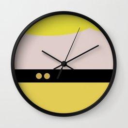 Tasha Yar - Minimalist Star Trek TNG The Next Generation  Lieutenant startrek Trektangles Wall Clock