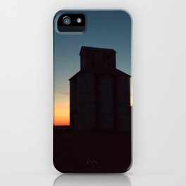 Silos at Sunrise iPhone Case