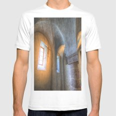 Tihany Abbey Crypt Mens Fitted Tee MEDIUM White