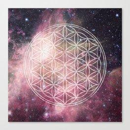 Sacred Geometry Universe 3 Canvas Print