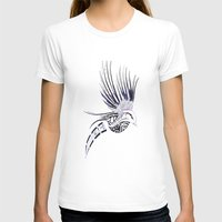 maori T-shirts featuring Colibri Maori by Aurélie B