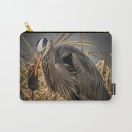 Heron and the mole Carry-All Pouch
