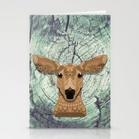bambi Stationery Cards featuring Bambi by ArtLovePassion