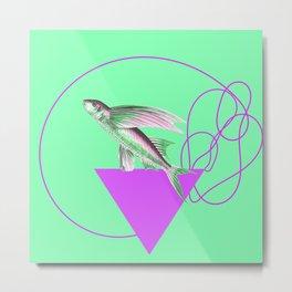 Mister Flying Fish Metal Print