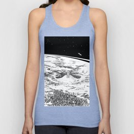 Space upon us Unisex Tank Top