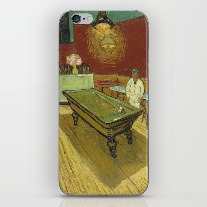 The Night Cafe by Vincent van Gogh iPhone Skin