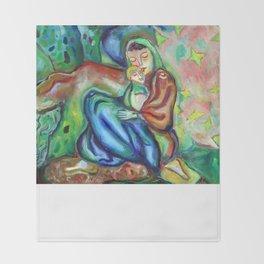Sario Painter , Danae Throw Blanket