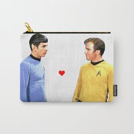 Kirk and Spock Space Husbands Print Carry-All Pouch