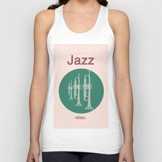 Jazz Relax Unisex Tank Top
