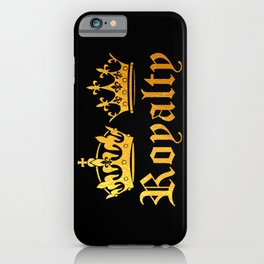 Royal King & Queen iPhone Case
