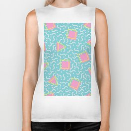 TOTALLY RAD 80s / 90S RETRO CALIFORNIA PATTERN Biker Tank