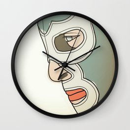 BLUE DEMON Wall Clock