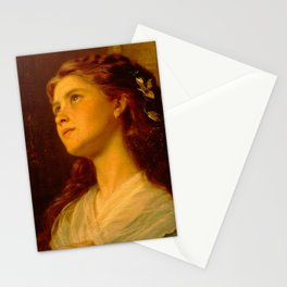 Anderson Sophie-Portrait of a Young Girl Stationery Cards