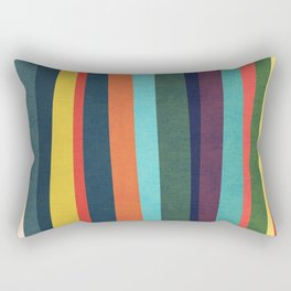 Mid-century zebra Rectangular Pillow