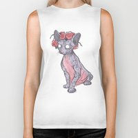 lucy Biker Tanks featuring Lucy by theroyalbubblemaker