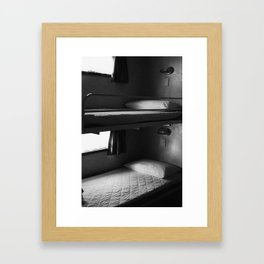 Bunk Framed Art Print