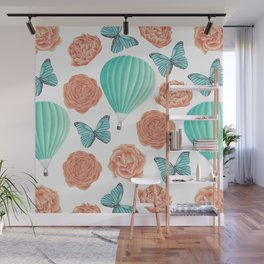 Fly Away With Me Wall Mural