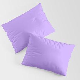 Lilac Purple Plain Pillow Sham
