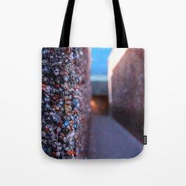 Do you dare enter Bubblegum Alley Tote Bag