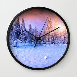 Listen to your Nature Wall Clock