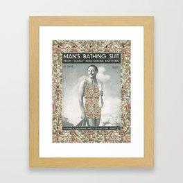 ...and Clyde Wears Mentalembellisher Framed Art Print