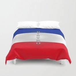 Tricolore Bistro Duvet Cover