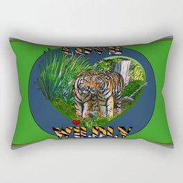 Love Wildly Rectangular Pillow