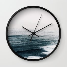 Ocean waves Wall Clock