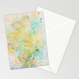 Abstract Artwork Colourful #11 Stationery Cards