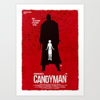 Candyman (Red Collection) Art Print