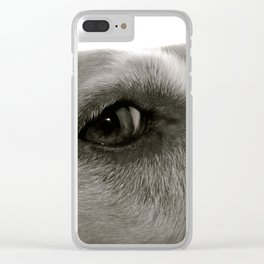 River of Fur Clear iPhone Case