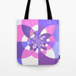 Unicorn Kaleidoscope Mandala Tote Bag