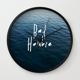 Happy Bad Hombre Wall Clock