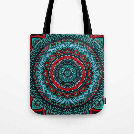 Hippie mandala 35 Tote Bag