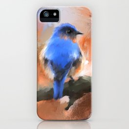 My Little Bluebird iPhone Case