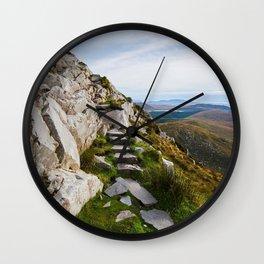 Connemara in Ireland Wall Clock