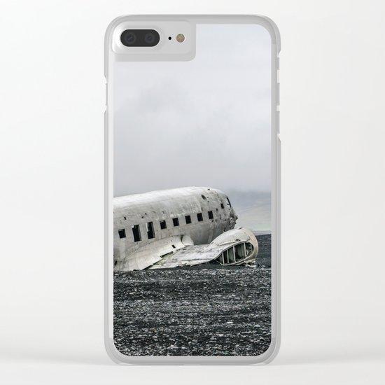 Phantom Flight Clear iPhone Case