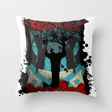 The Oddity Twins Throw Pillow