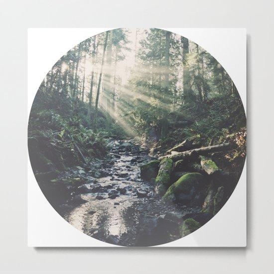 Sunbeam River Metal Print